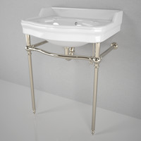 3d waterworks palladio washstand model
