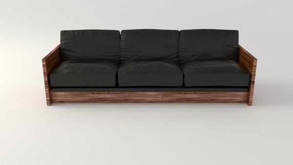 blend leather sofa