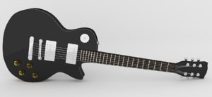 maya guitar 01