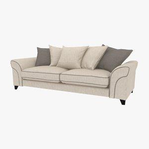 3d wentwood sofa