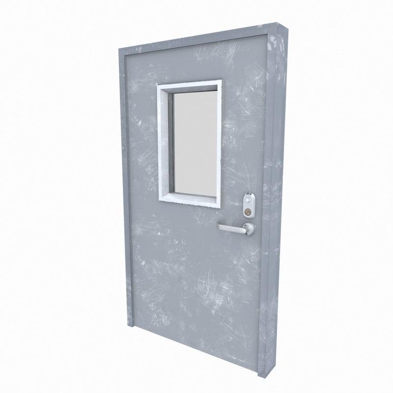 3dsmax security door