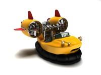 3ds max hovercraft