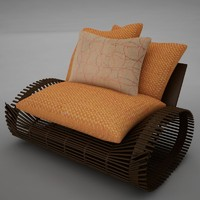 chair modern tropic