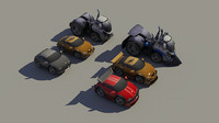 3ds max unity cars