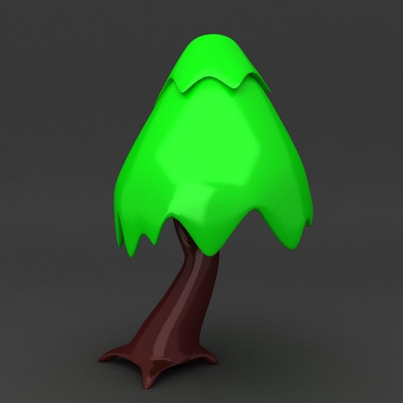 cartoon tree ma