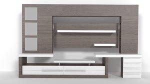 living room sideboard fbx