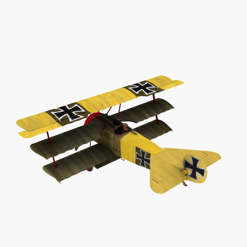 von richthofen markings 3d model
