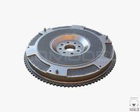 flywheel sport pbr 3d obj