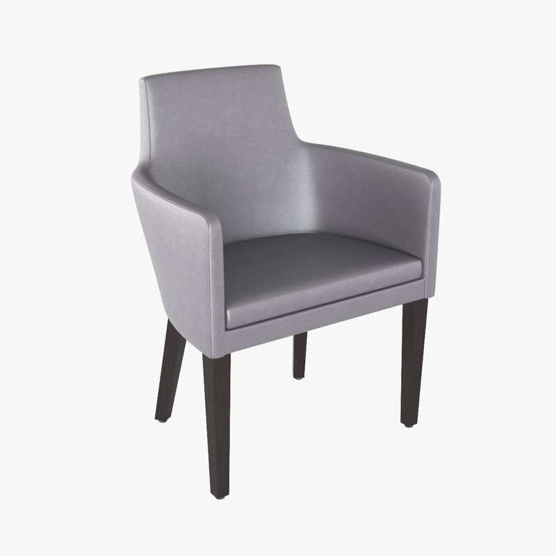 3d chair modeled bistro