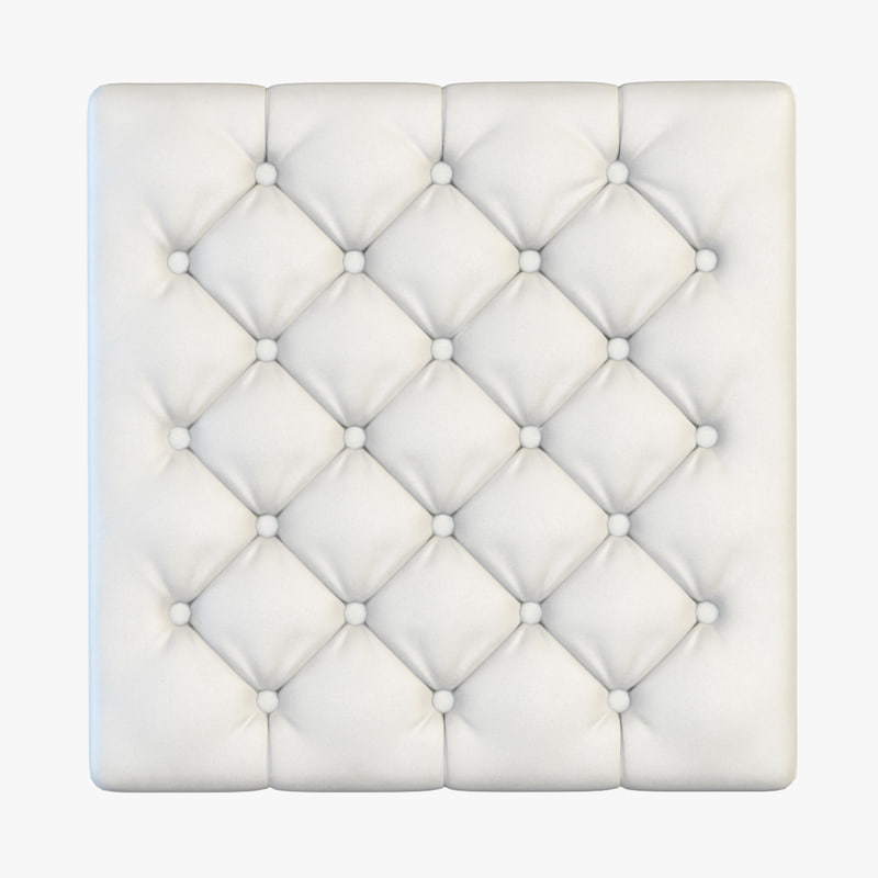 max capitone panel leather