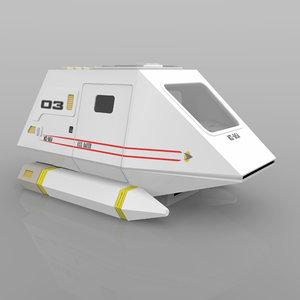 3d shuttle transport