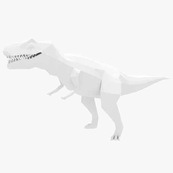 3d model t-rex ready games