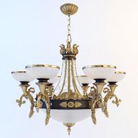 3d 3ds chandelier classic
