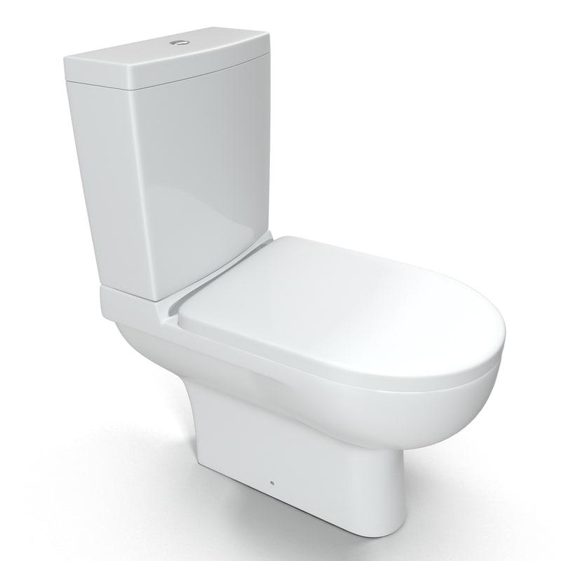 toilet pan 3d model