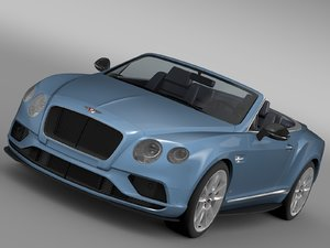 bentley continental gt v8 3d max