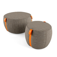 lema pouf notch 3d model