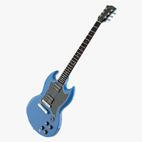 3d gibson sg special limited model