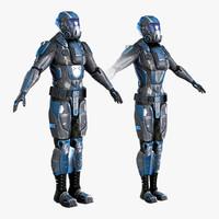 Sci-Fi Armor 8 Set