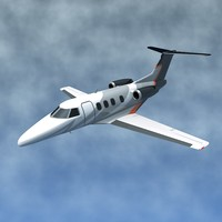 3d jet private embraer model