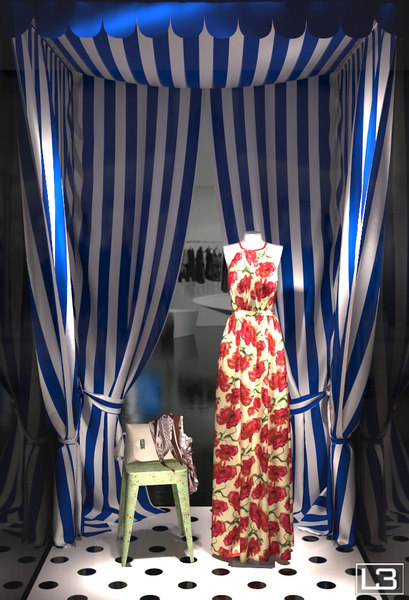 3ds max showroom fashion