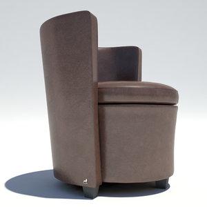 chair smania 3d model