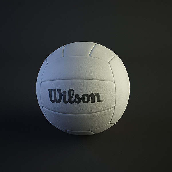 ball volleyball 3d max