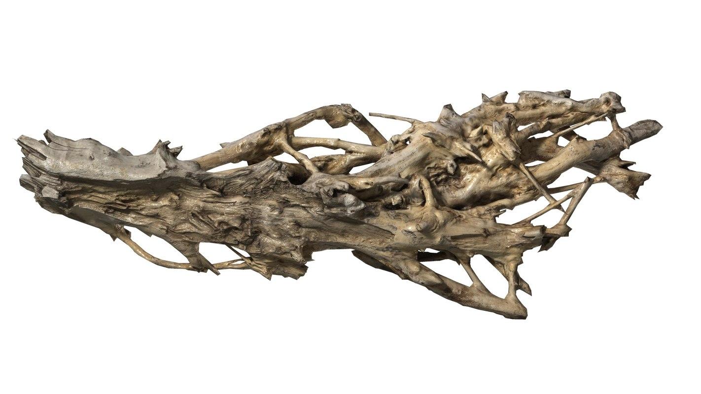 branch rotten wood 3d 3ds