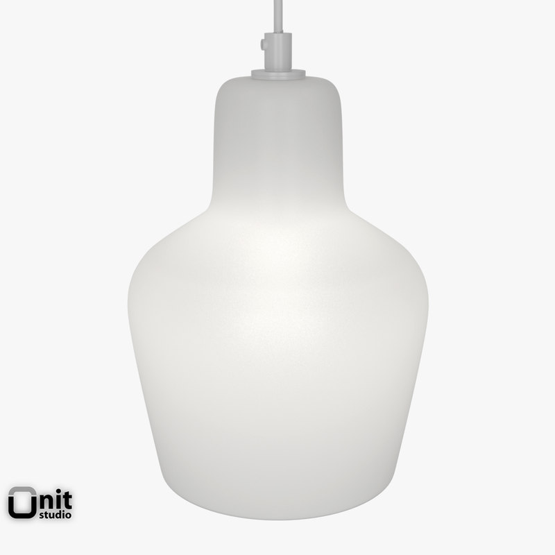 artek lamp a440 light 3d model
