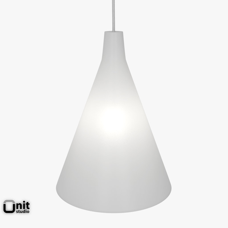light artek tw002 lamp 3d model