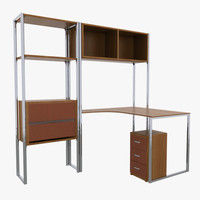 3d office furniture rack
