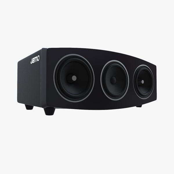 3d model jamo c9 cen speaker