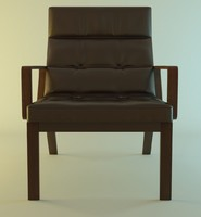 3d obj rest armchair