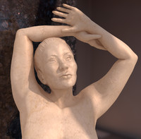 Female Marble Statue