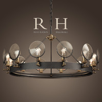3ds max gaslight lens chandelier 42