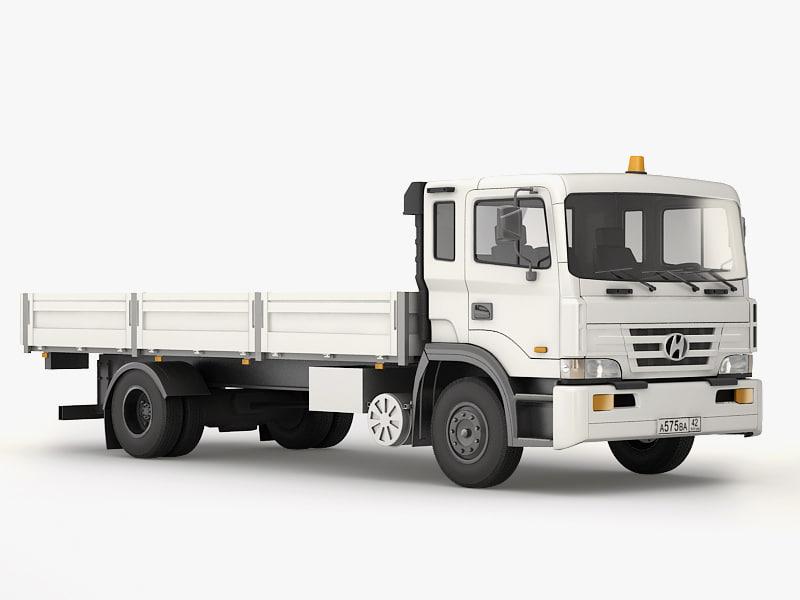 hyundai hd-170 3d model