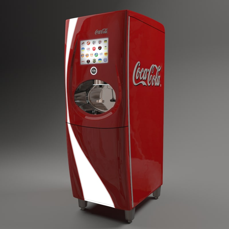 3d freestyle coke dispencer