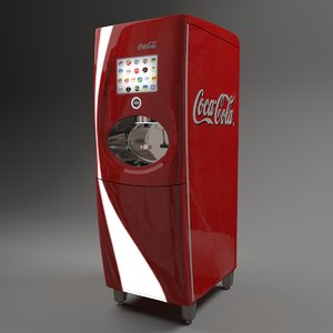 3d freestyle coke dispencer