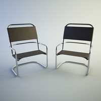 3d conference chair model