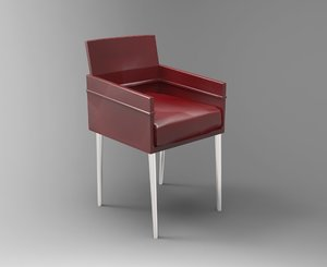 chair studio 3d obj