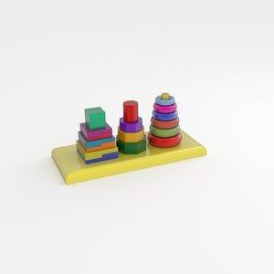 figures 3d model