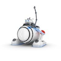 3d funny robotic character 3