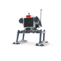 3d max funny robotic character
