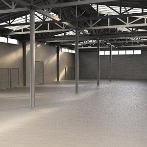 warehouse 3d max