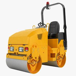asphalt compactors 3d model