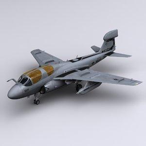 ea-6b prowler 3d 3ds
