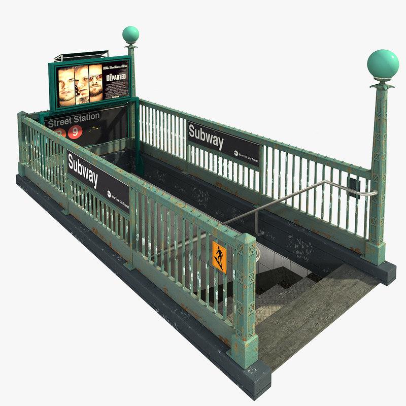 3ds new york subway entrance