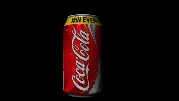 3dsmax coca cola