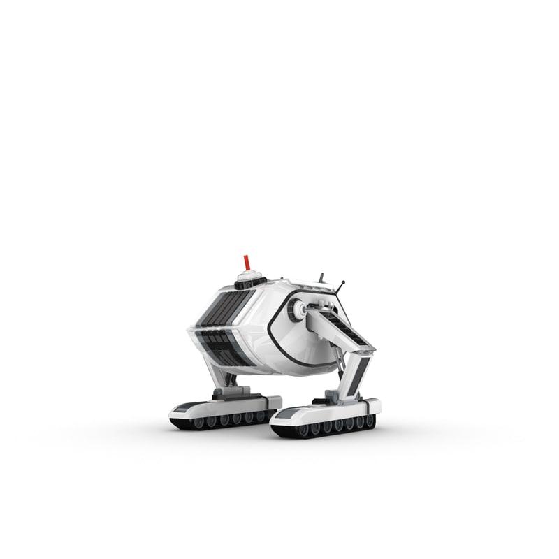 maya funny robotic character