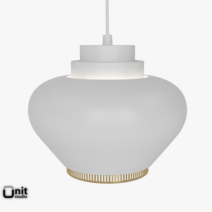 3d model artek lamp a333
