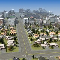 3d residential development b housing